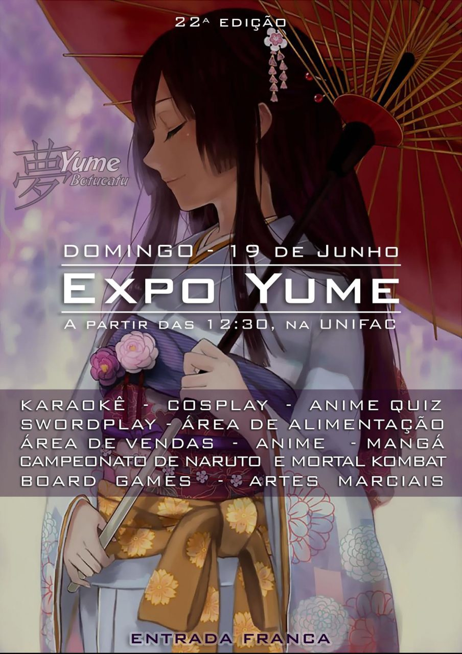 Cartaz 22 Expo Yume